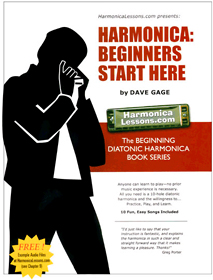 Harmonica Book: Beginners Start Here
