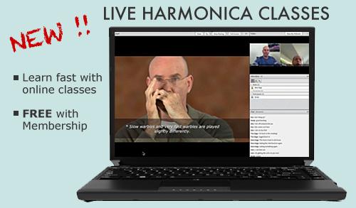 Harmonica Classes- live, online