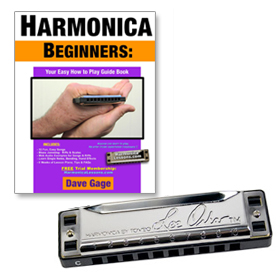 Hard copy beginner book / Lee Oskar Harmonica Package