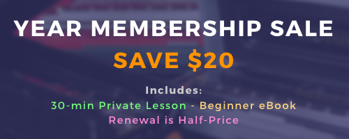 Year Membership Sale